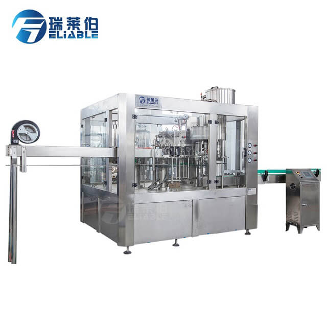CE China Manufacturer Plastic Bottle Gas Drink Fully Automatic Filling Equipment