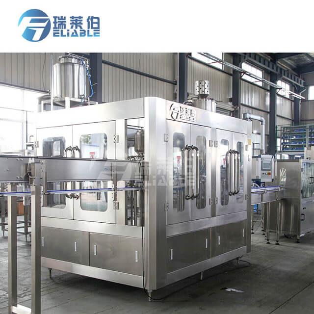 China Factory Pirce 7000BPH Automatic Juice Filling Machine with Relaible Performance